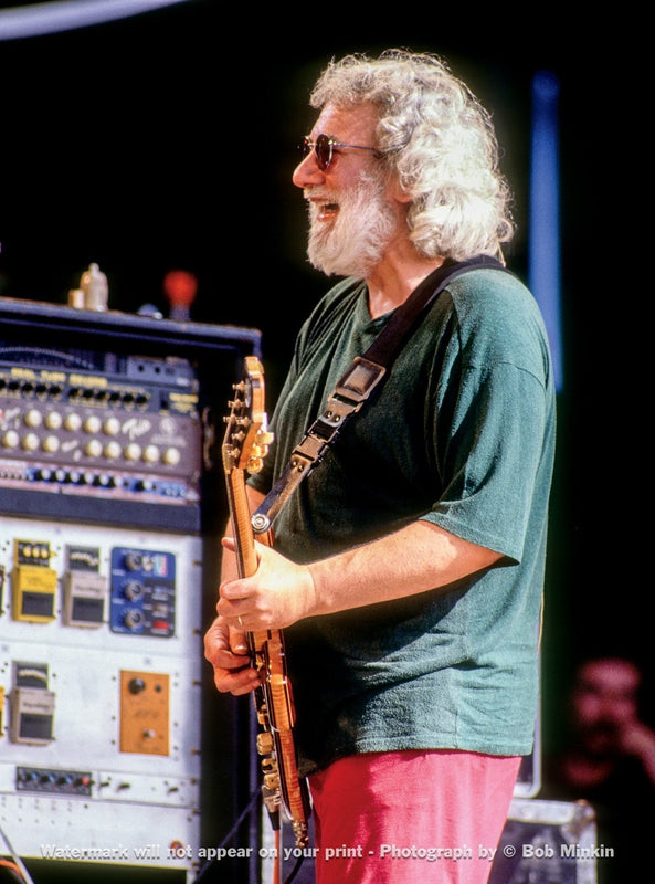 Jerry Garcia – Grateful Dead - Shoreline Amphitheatre, Mountainview, CA - 7.3.94 - Bob Minkin Photography