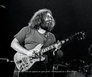 Jerry Garcia  - Grateful Dead - Winterland, San Francisco, CA - 12.30.77 - Bob Minkin Photography