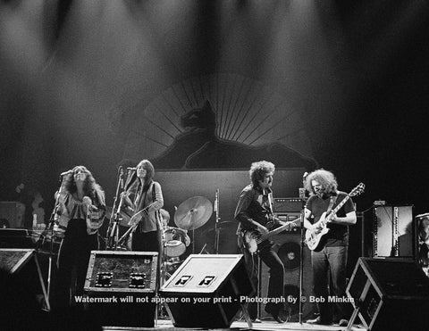 Jerry Garcia Band - Palladium, NYC - 11.27.77 - Bob Minkin Photography
