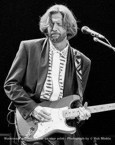 Eric Clapton -  Shoreline Amphitheater, Mountain View, CA - 5.5.90-5 - Bob Minkin Photography