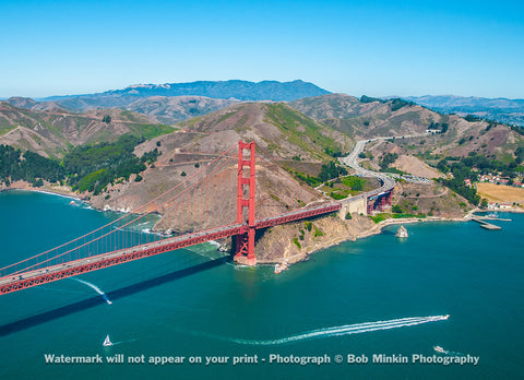 The Golden Gate and Marin County IV