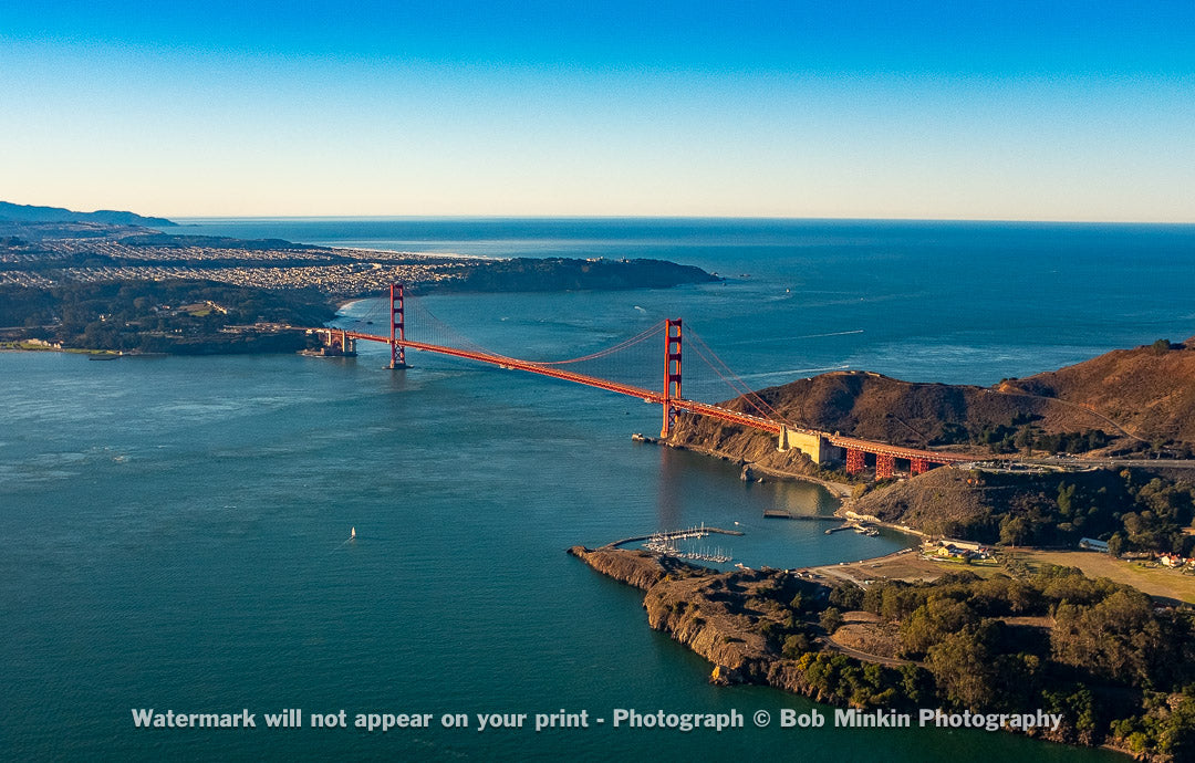 The Golden Gate and San Francisco I