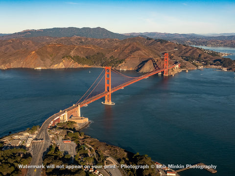 The Golden Gate and Marin County II