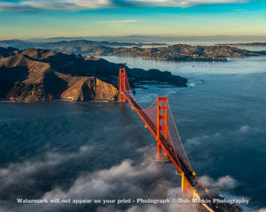 The Golden Gate and Marin County III