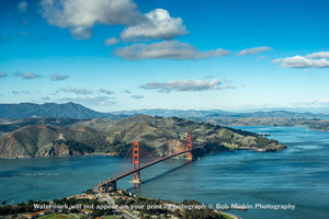 The Golden Gate and Marin County