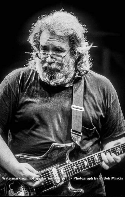 Jerry Garcia - Grateful Dead - Madison Square Garden, New York, NY - 9.18.87 - 1