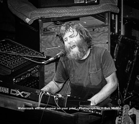Brent Mydland – Go Ahead - The Ritz, NYC 9.26.86 - Bob Minkin Photography