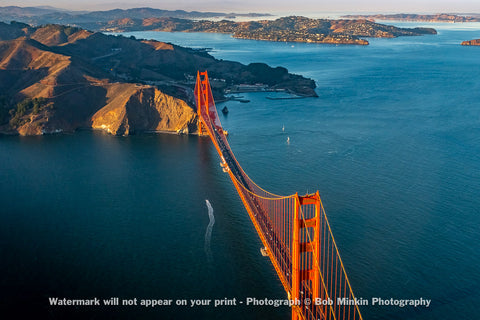 Sunset on the Golden Gate Bridge