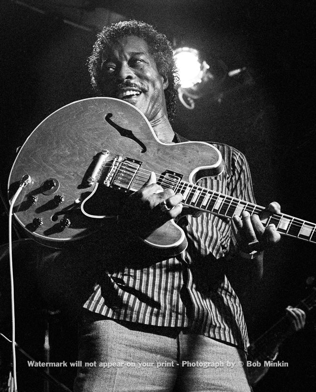 Buddy Guy - Antones, Austin, TX - July 1985 - Bob Minkin Photography