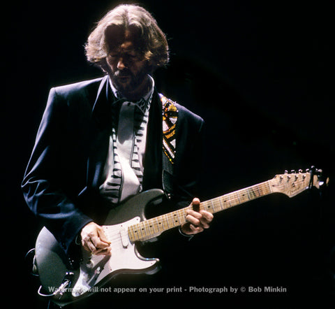 Eric Clapton -  Shoreline Amphitheater, Mountain View, CA - 5.5.90 - Bob Minkin Photography