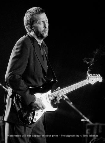 Eric Clapton -  Shoreline Amphitheater, Mountain View, CA - 9.4.92 - Bob Minkin Photography