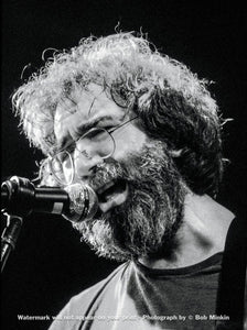 Jerry Garcia – Grateful Dead - Melkweg Club, Amsterdam - 10.16.81 - Bob Minkin Photography