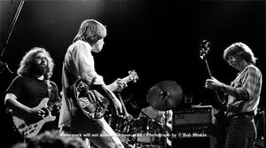Grateful Dead - Winterland, San Francisco, CA - 12.30.77 - Bob Minkin Photography