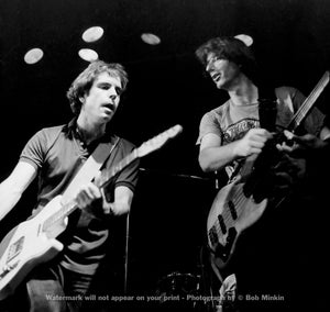 Bob Weir and Phil Lesh – Grateful Dead - Melkweg Club, Amsterdam - 10.16.81 - Bob Minkin Photography