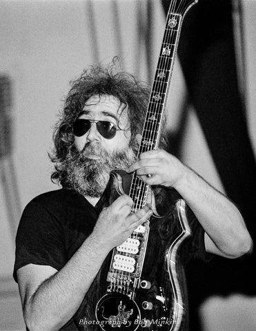 Jerry Garcia - Convention Hall, Asbury Park, NJ - 7.26.80 - Bob Minkin Photography