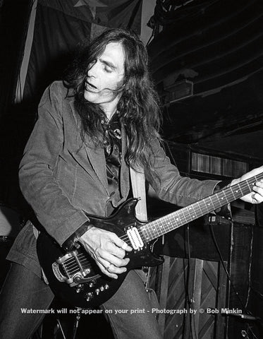 John Cipollina - Lone Star Cafe, NYC - 10.2.83 - Bob Minkin Photography