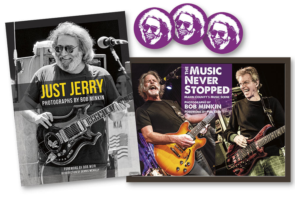 Just Jerry & The Music Never Stopped Bundle - Bob Minkin Photography