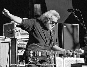 Jerry Garcia – Grateful Dead - Shoreline Amphitheatre, Mountainview, CA - 8.17.91 - Bob Minkin Photography