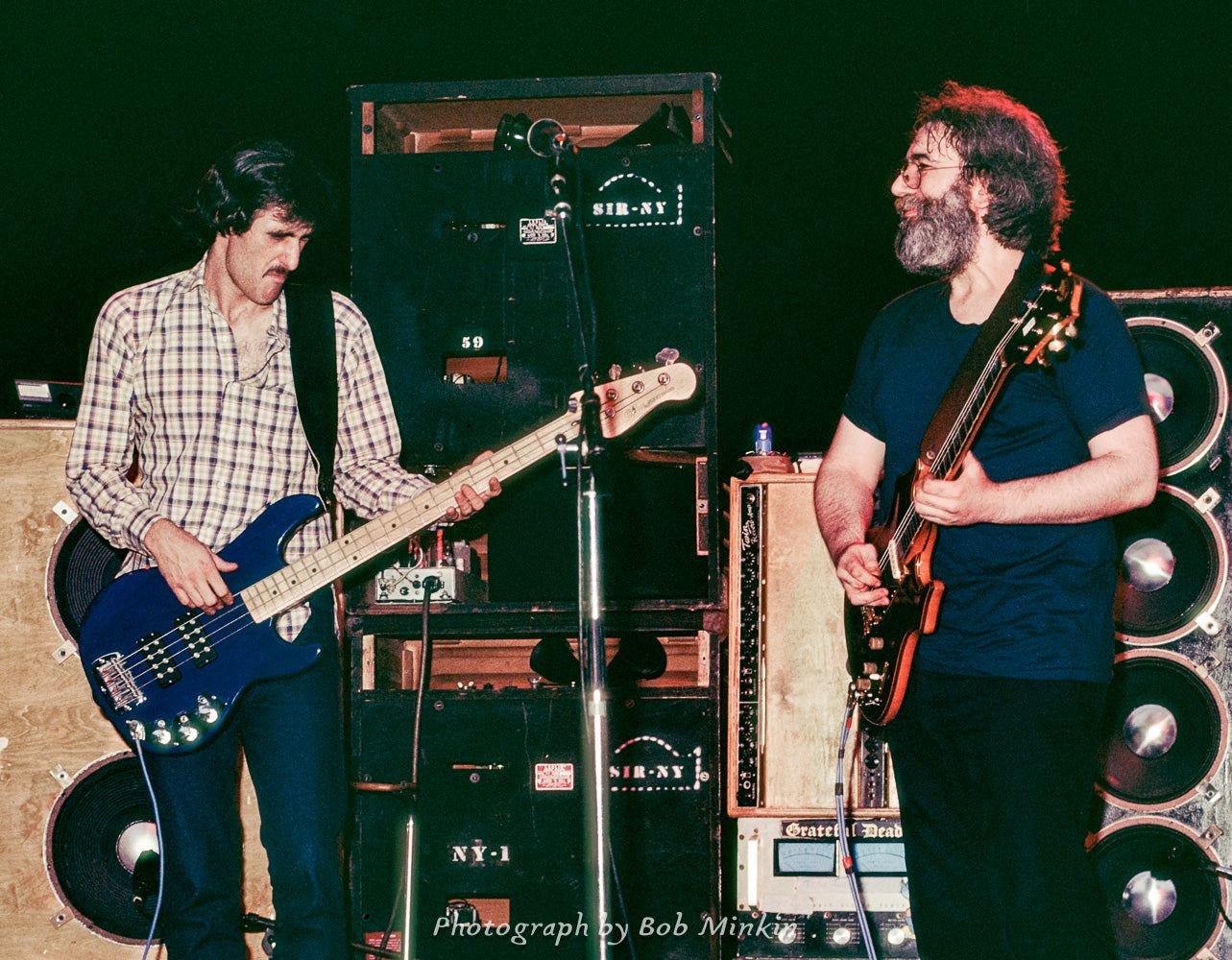 Jerry Garcia & John Kahn - Music Mountain, S. Fallsburg, NY - 6.16.82 - Bob Minkin Photography