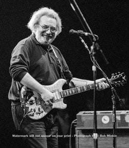 Jerry Garcia - Grateful Dead - Brendan Byrne Arena, East Rutherford, NJ - 10.16.89 - Bob Minkin Photography