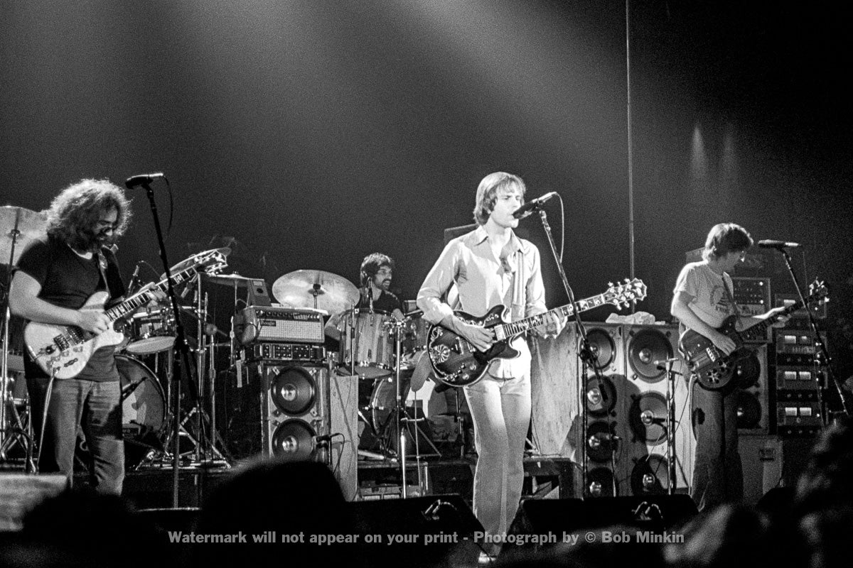 Grateful Dead - Broome County Arena, Binghamton, NY - 11.6.77 - Bob Minkin Photography