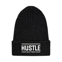 Load image into Gallery viewer, Hustle Matters® Black Beanie
