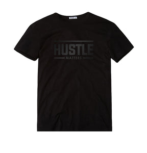 Hustle Matters® Black on Black T-Shirt
