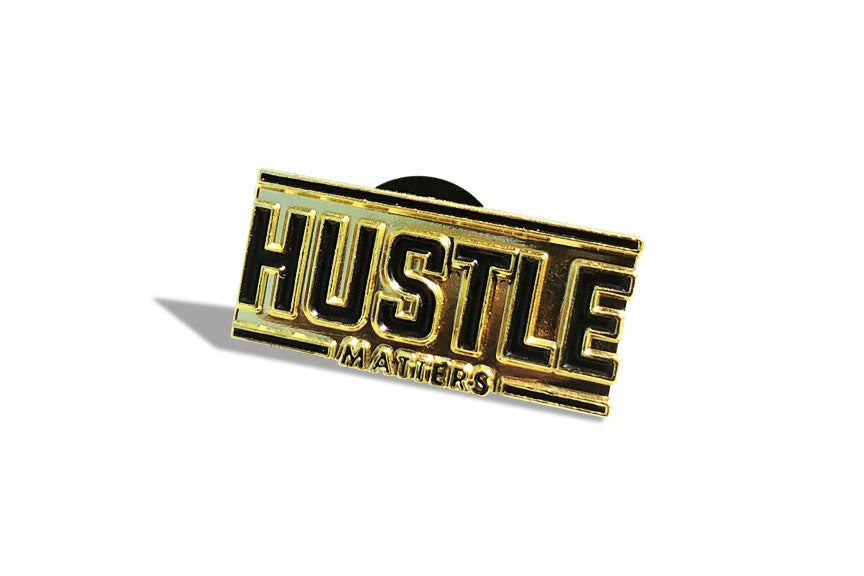 Hustle Matters® Pin