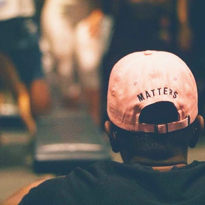 Hustle Matters® Pink Mom/Dad Hat