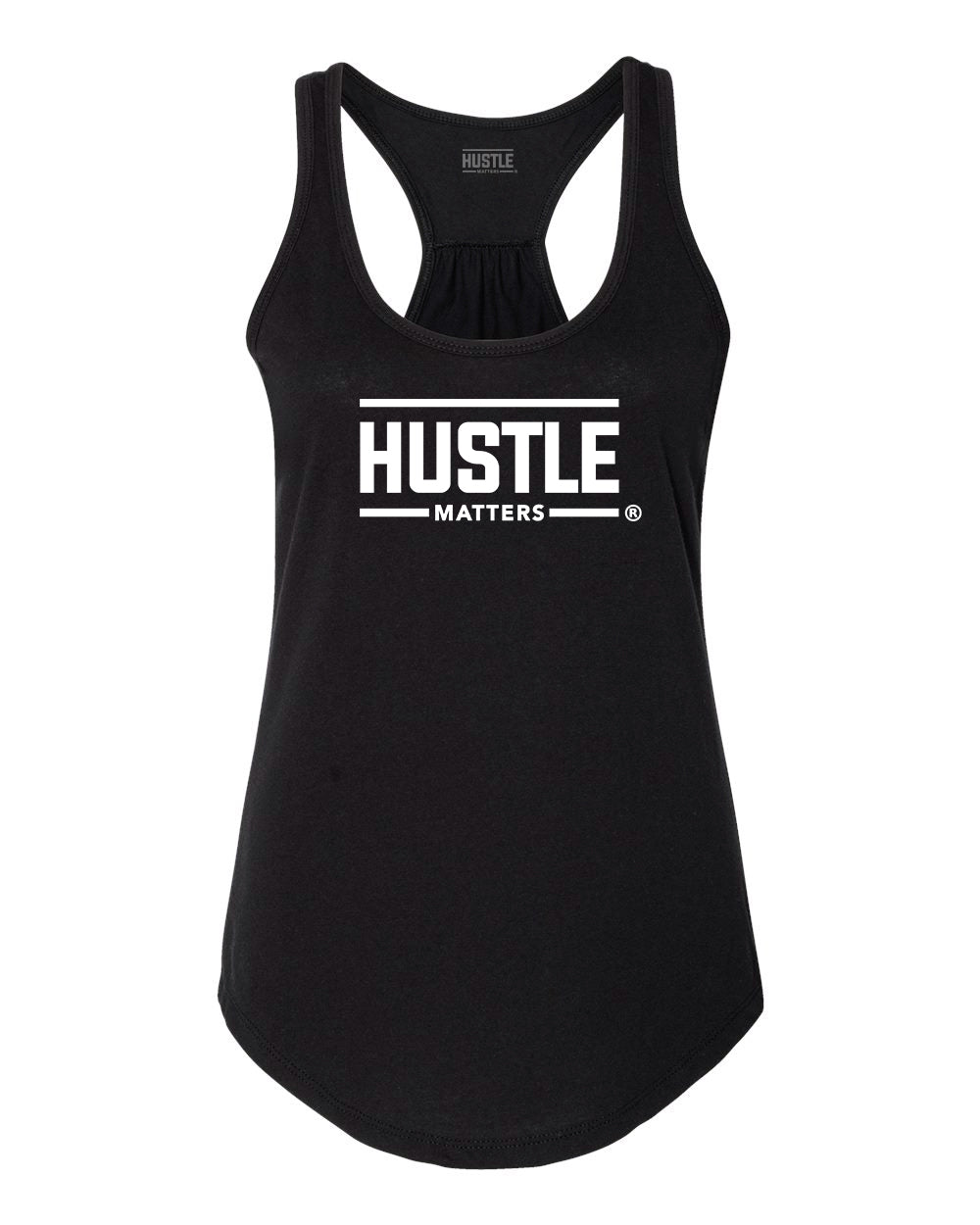 Hustle Matters® Black Women's Tank