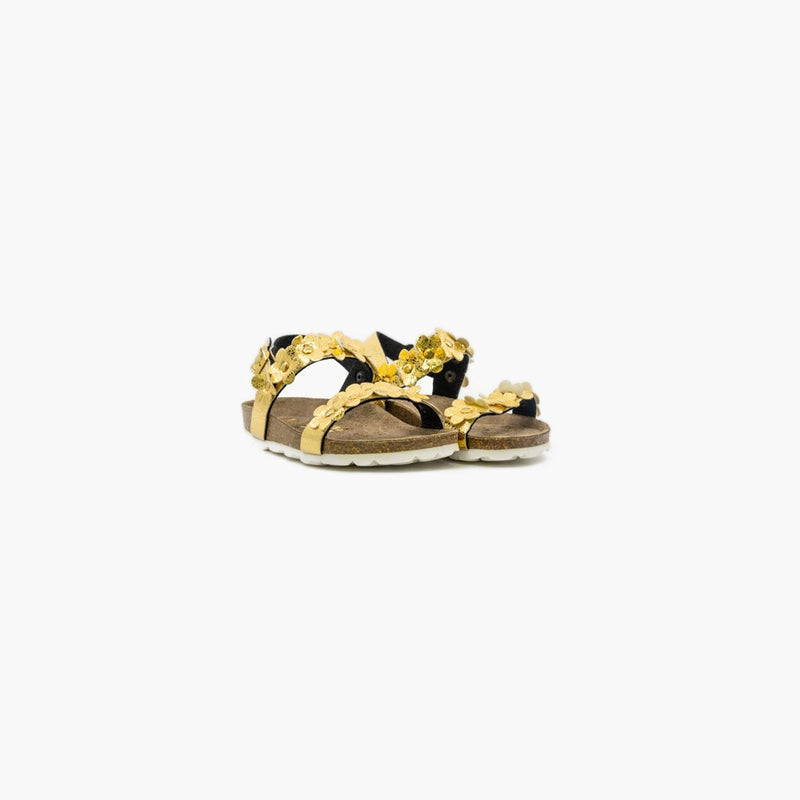Rosolina Gold Sandals - MyJooti