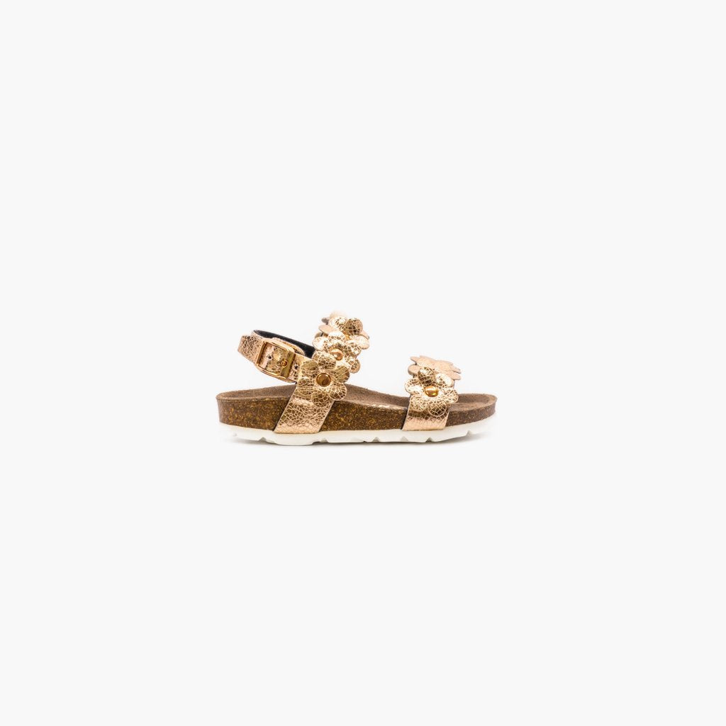 Rosolina Rose Gold Sandals - MyJooti