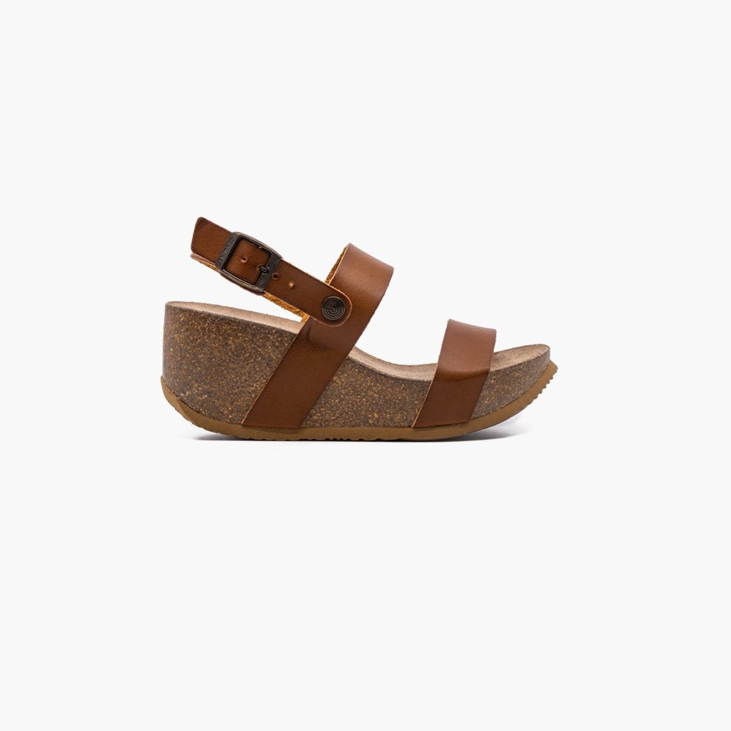 Capri Vachetta Light Brown Sandals - MyJooti
