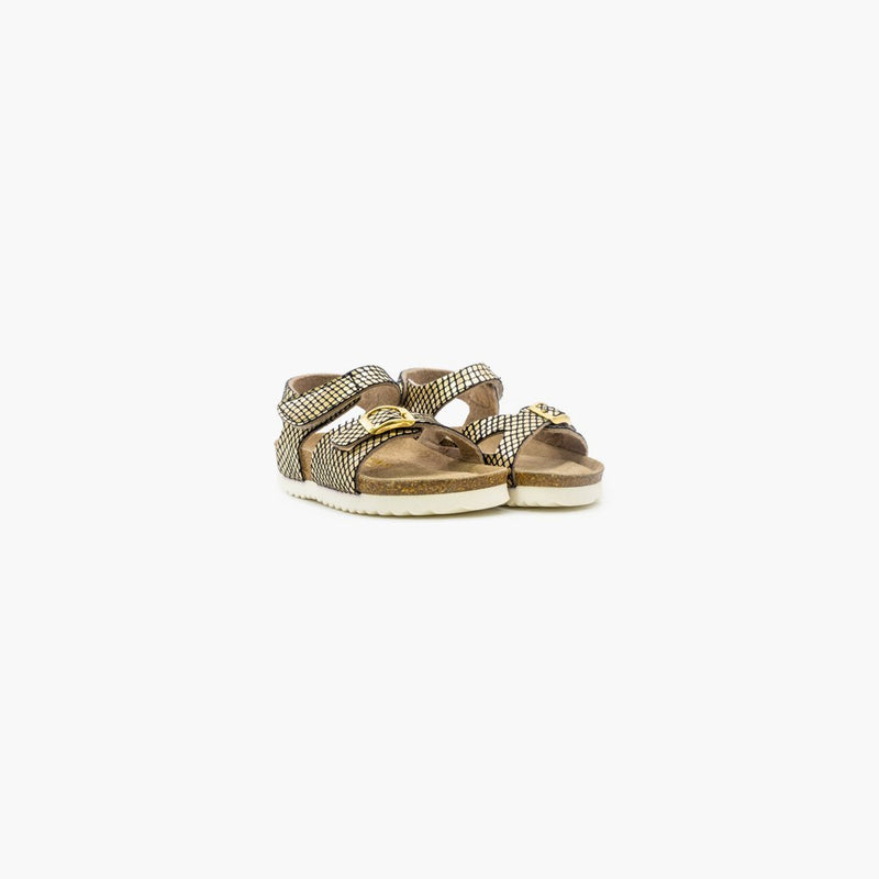 Galtur Gold Sandals - MyJooti