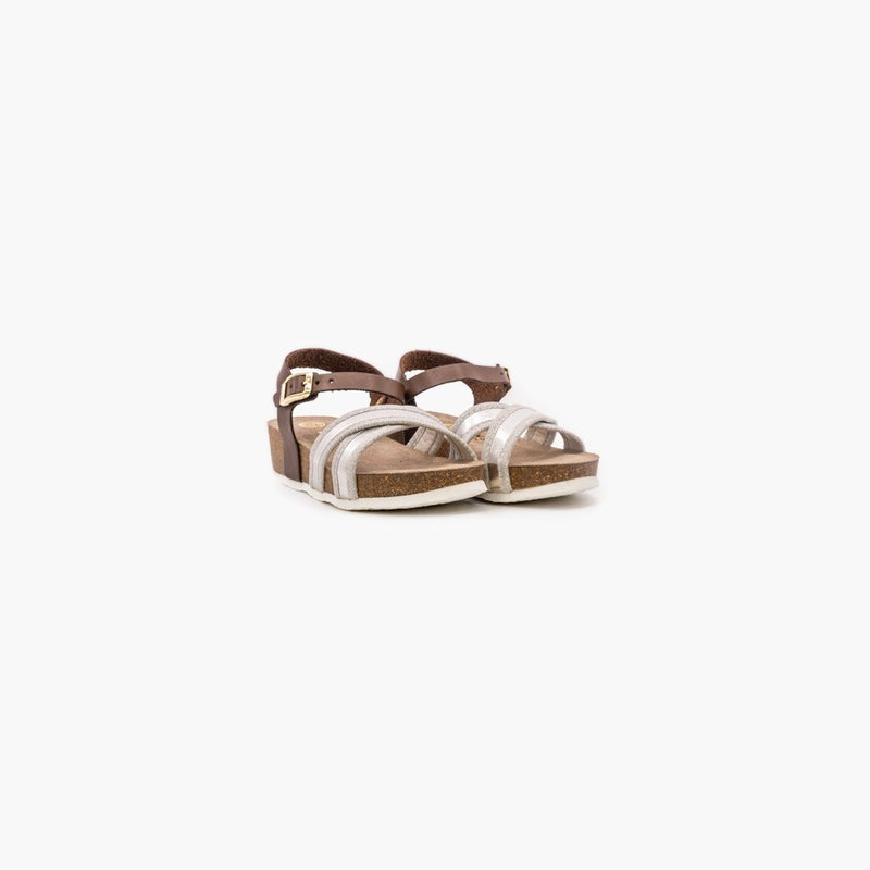 Letitia Silver Sandals - MyJooti