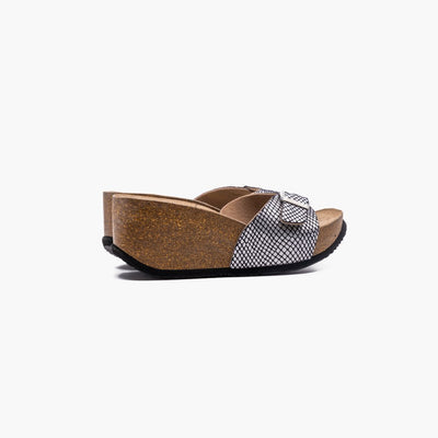 Sunset Kelvin Silver Sandals - MyJooti