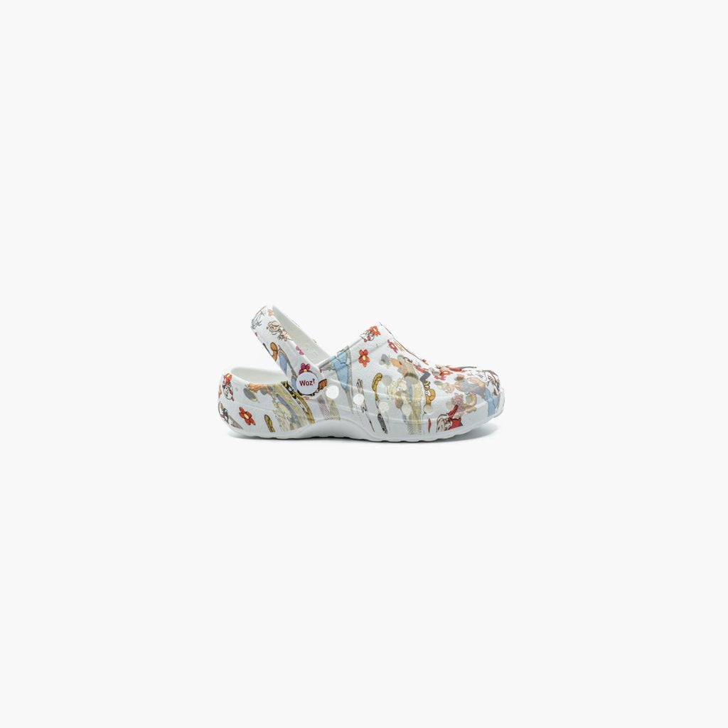 Olive in Love Print Clogs - MyJooti