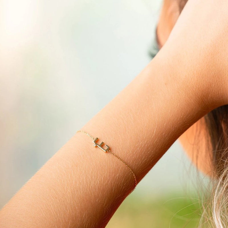 Arabic Alphabet Word Bracelet - Love (Arabic)