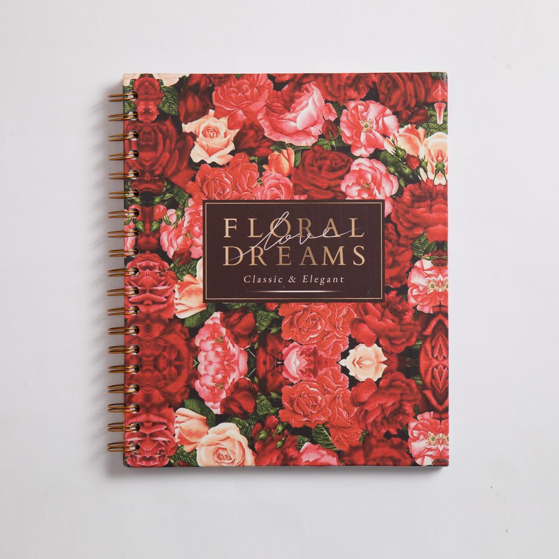Floral Dreams Notebook Wire A5 Size