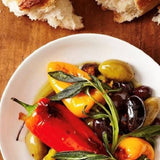 Marinated Italian Peppers in Oil - babesfarmfreshproduce