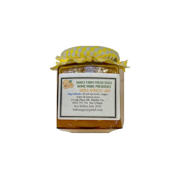 Dried Apricot Jam - babesfarmfreshproduce