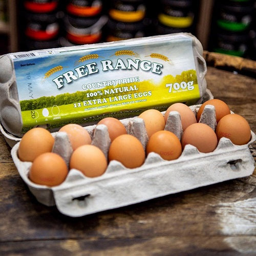 Country Pride Free Range Eggs - babesfarmfreshproduce
