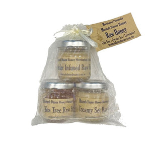 Trio of Moonah Dunes Honey Set - babesfarmfreshproduce