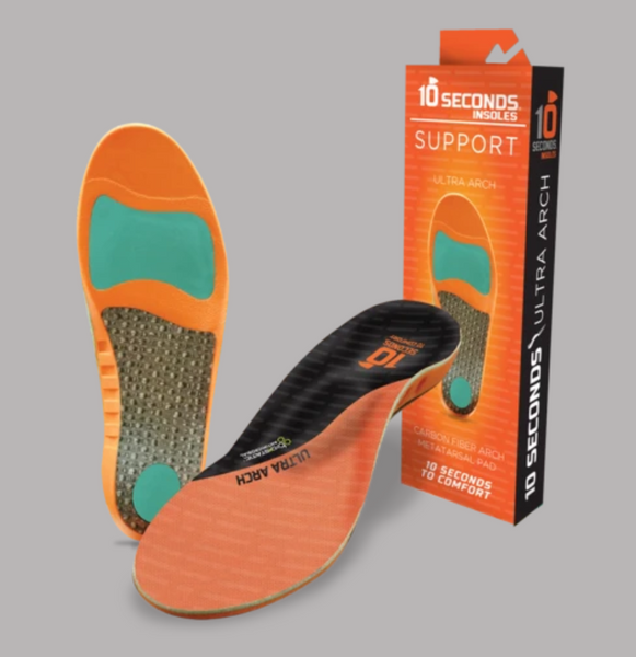 10 Seconds Ultra Arch Support Insoles