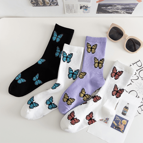 """Butterfly"" Sock - Maener"