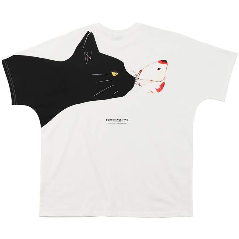 """Cat Butterfly"" T-shirt - Maener"
