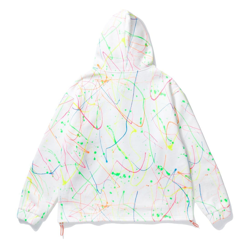 """Colored intersecting lines"" Sweatshirt Hoodie - Maener"