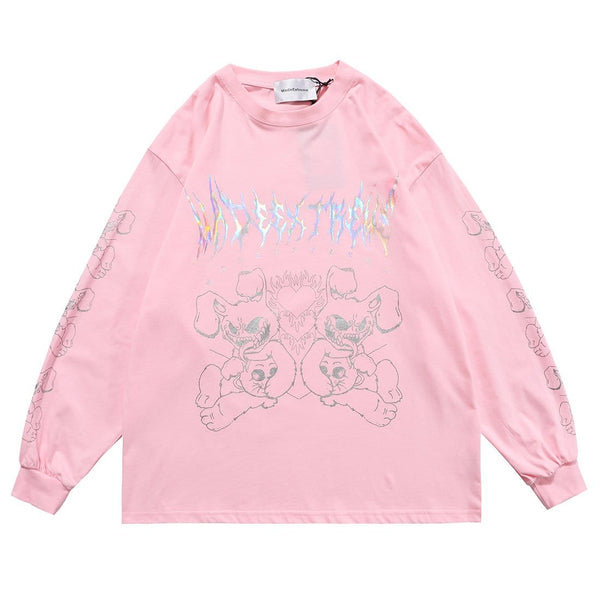 """Fierce Bunny"" Sweatshirt - Maener"