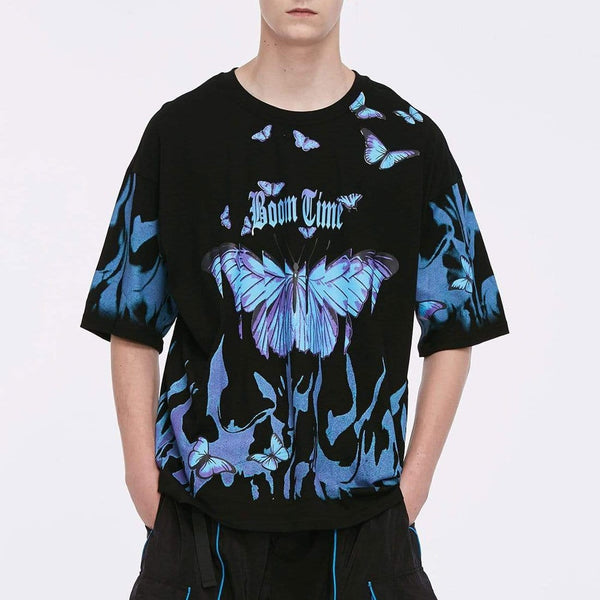 "Maener ""Flying butterflies"" T-shirt - Maener"