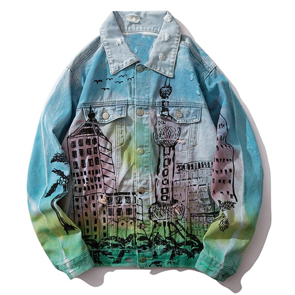 """Mansion"" Denim Jacket - Maener"